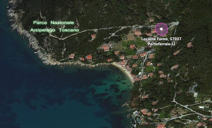 mappa forno - isola d'elba